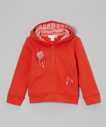 Fiesta Flower Zip-Up Hoodie - Toddler & Girls