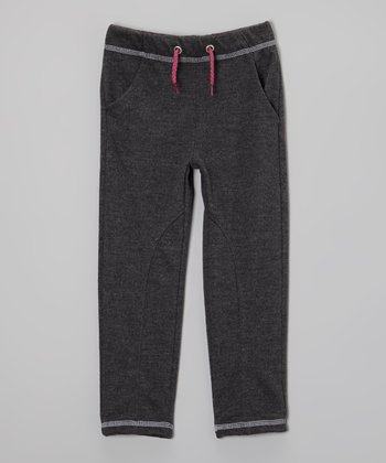 Charcoal Pocket Pants - Toddler & Girls