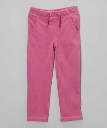 Raspberry Rose Pocket Pants - Toddler & Girls