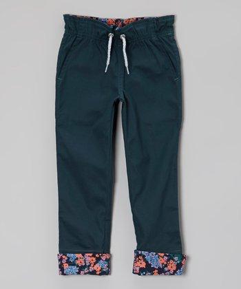 Bay Berry Cinch-Waist Pants - Toddler & Girls