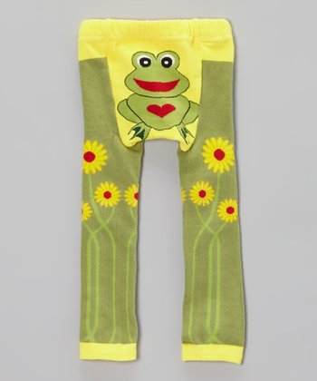 Green Frog Leggings