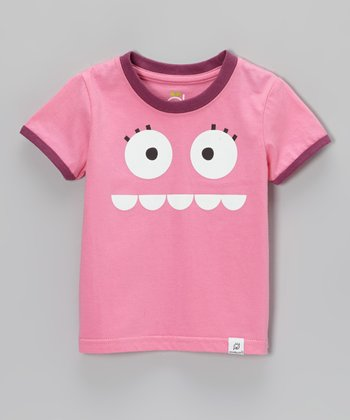 Doodle Pants Pink & Orchid Silly Monster Tee