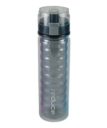 Gray Ripple 18-Oz. Water Bottle