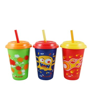 GoGo Kids Cosmic Tumbler Set
