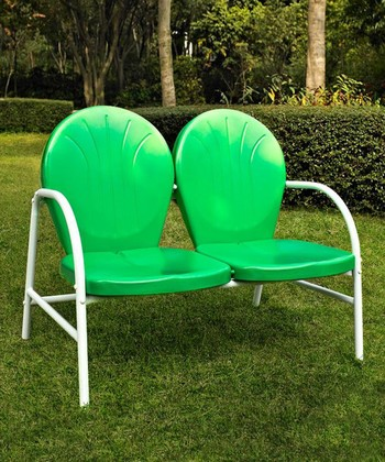 Grasshopper Green Griffith Love Seat