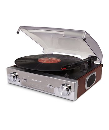 Mahogany Tech Turntable