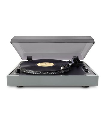 Gray USB Advance Turntable