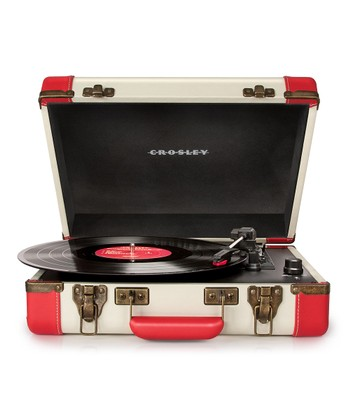Red & White Executive USB Turntable