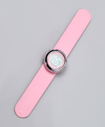 Baby Pink Digital Watch