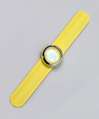 Yellow Digital Watch