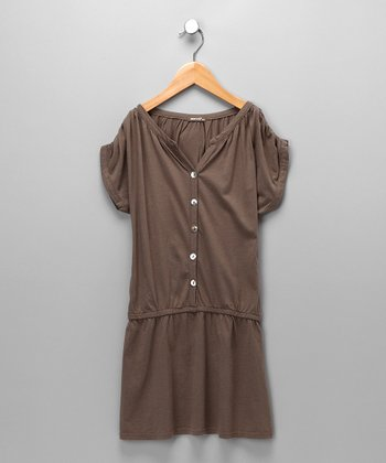Olivia Naomi Drop-Waist Dress - Girls