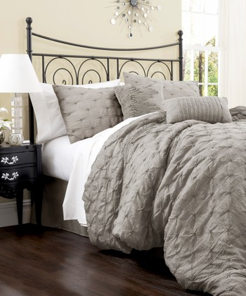 Gray Lake Como Comforter Set