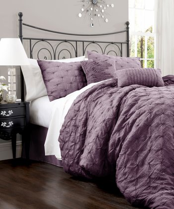 Purple Lake Como Comforter Set