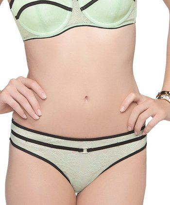 Pistachio Green Serena Thong - Women