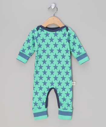 Blue Bowie Star Playsuit - Infant