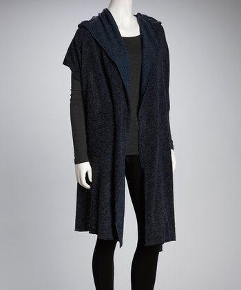 Luna Claire Blue	Twilight Hooded Wrap