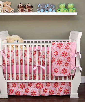 Pink Sweet Divinity Crib Bedding Set