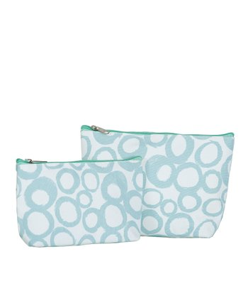 Aqua Cassis Cosmetic Bag Set