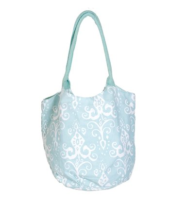 Aqua Roussillion Beach Bucket Bag