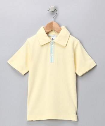 Yellow Polo - Infant, Toddler & Boys