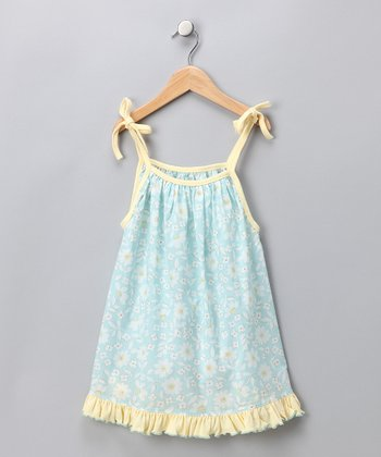 Blue Molly Swing Top - Infant & Girls
