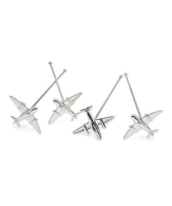 Airplane Stirrer - Set of Four