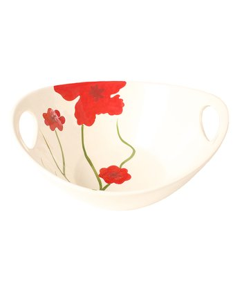 Poppy 11'' Oval Serving Bowl