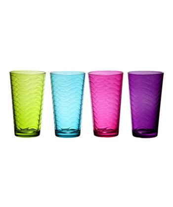 Surf Rainbow Glass Set