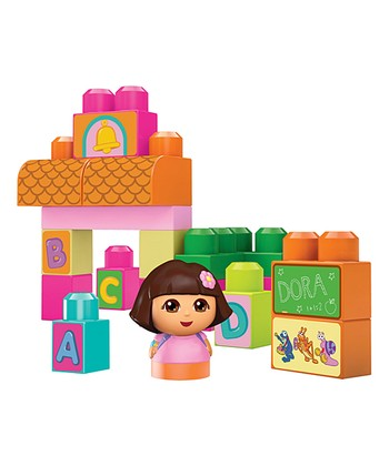 Dora's Talking School Block Set