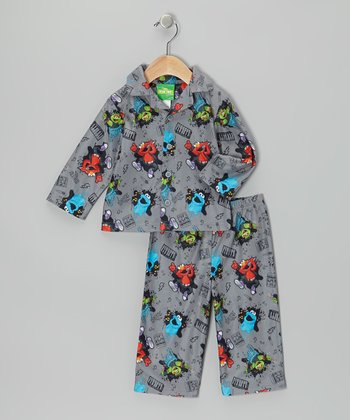 Gray Muppets Rock Pajama Set - Infant & Toddler