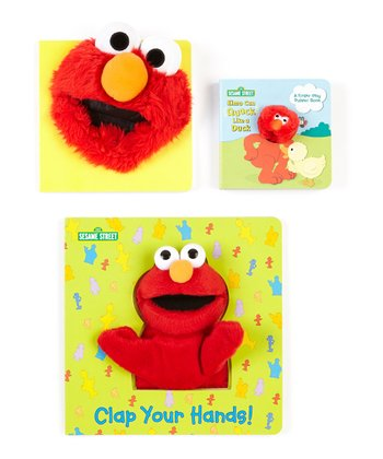 Elmo Can Quack Like A Duck Board Book Set