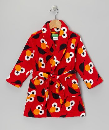 Red Elmo Bathrobe - Toddler