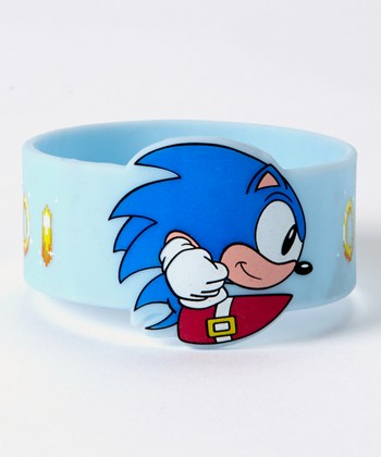 Blue Sonic the Hedgehog Bracelet