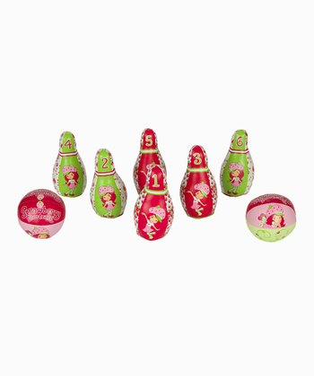 Strawberry Shortcake Bowling Set