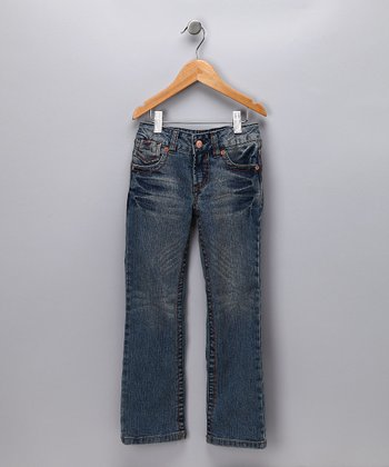 Medium Wash Lexi Straight-Leg Jeans - Infant & Toddler