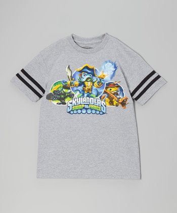 Gray Skylanders 'Swap Force' Pose Tee - Boys