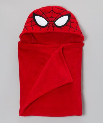 Red Spider-Man Hooded Wrap