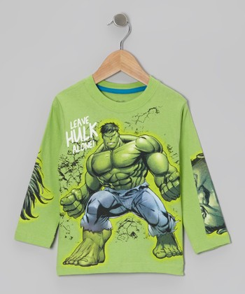 Green Hulk Long-Sleeve Tee - Infant & Toddler