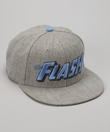 Gray & Blue 'Flash' Baseball Cap