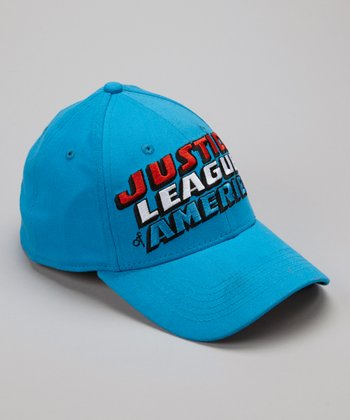 Blue 'Justice League' Baseball Cap