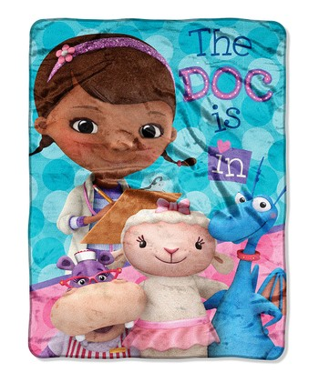 Doc McStuffins 'The Doc Is In' Throw Blanket