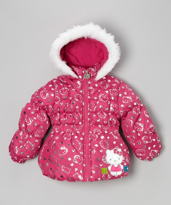 Pink Hello Kitty Jacket - Girls