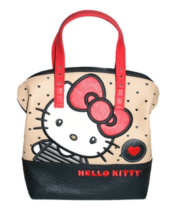 Hello Kitty Big Bow & Hearts Tote