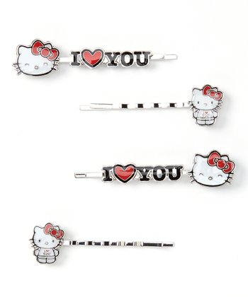 'I Love You' Hairpins