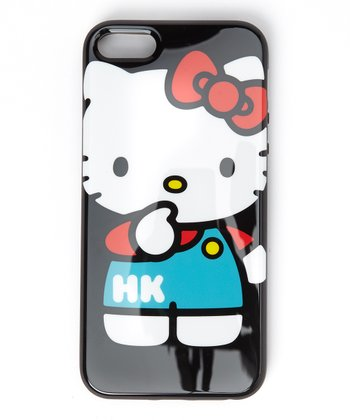 Kitty Overalls Case for iPhone 5