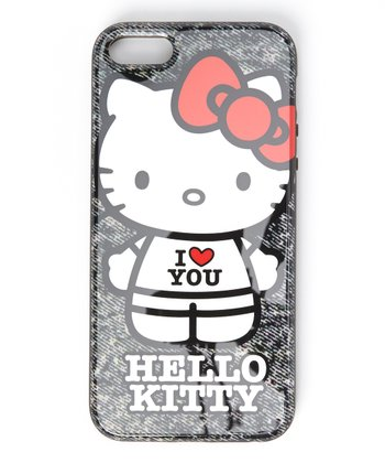 Kitty 'I Love You' Case for iPhone 5