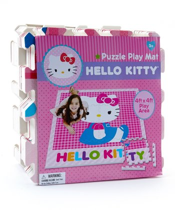 Hello Kitty Puzzle Play Mat