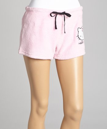 Pink Hello Kitty Boxers - Women