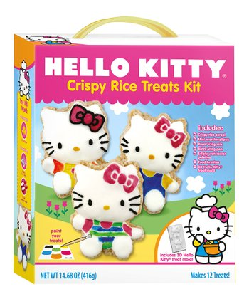 Hello Kitty Crispy Rice Treats Baking Set