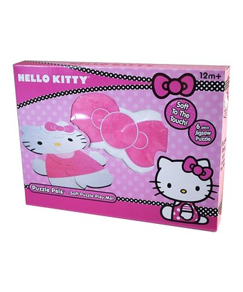 Hello Kitty Puzzle Floor Mat